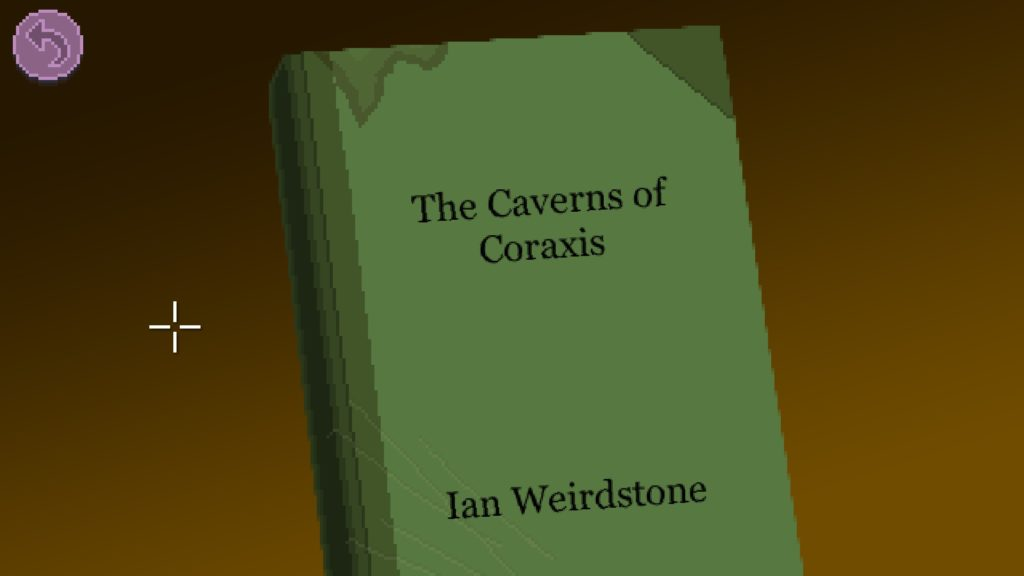 Cover of 'The Caverns of Coraxis', by Ian Weirdstone